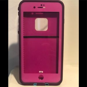 Lifeproof FRE cellphone case. iPhone 8/7/6 Plus.